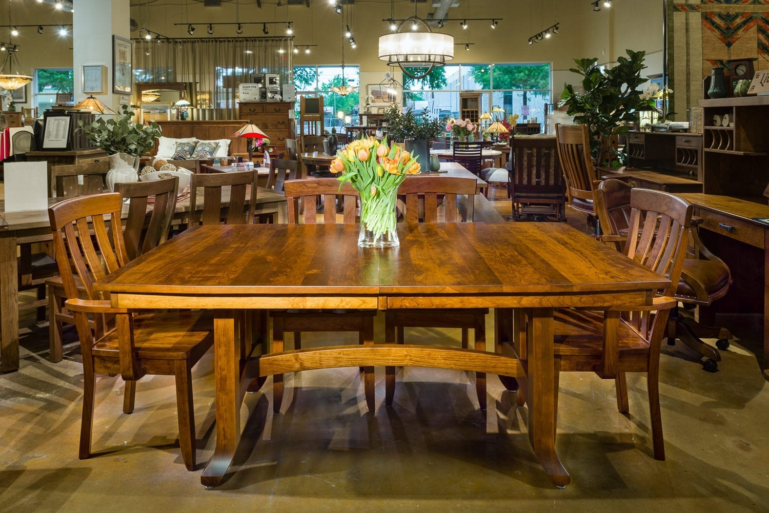 Amish Dining Room Furniture   The Amish Craftsman in Houston