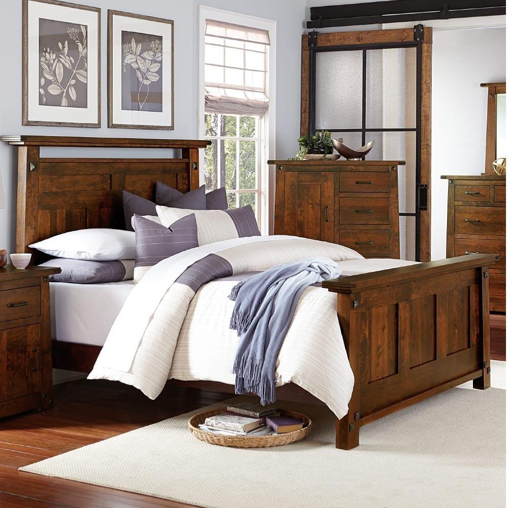 Mission bedroom furniture