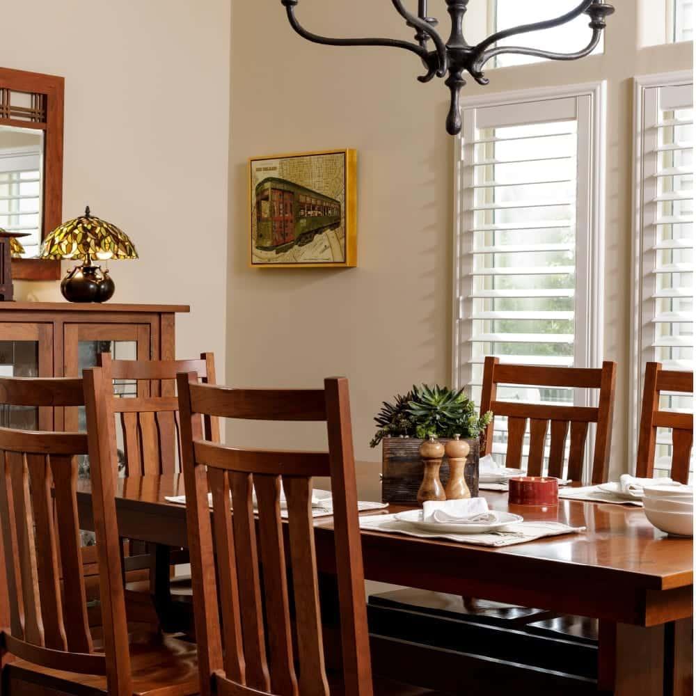 Mission Craftsman dining room furniture