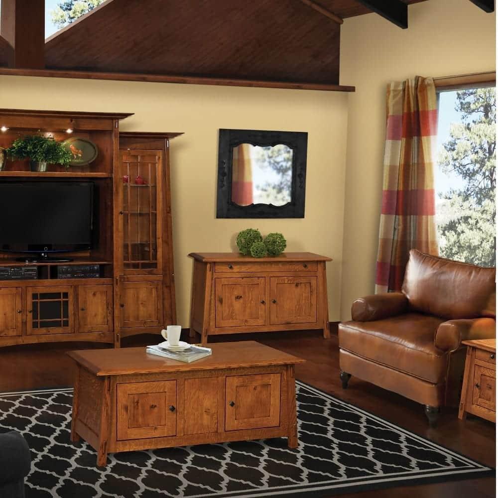 Mission Craftsman living room furniture