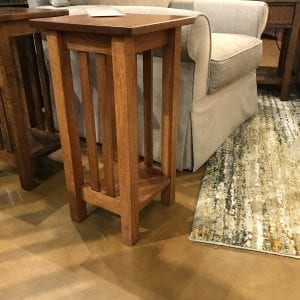 Hickory Mission Plant Stand 8