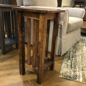 Hard Maple Mission Plant Stand 5
