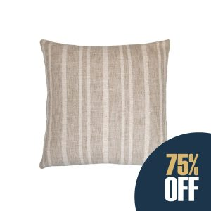 California Natural Stripe Pillow