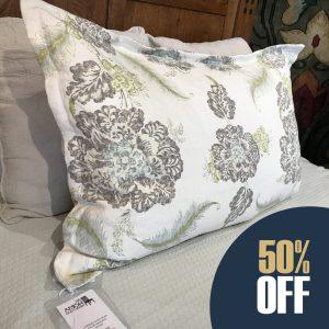Graphite Pillow Sham 1