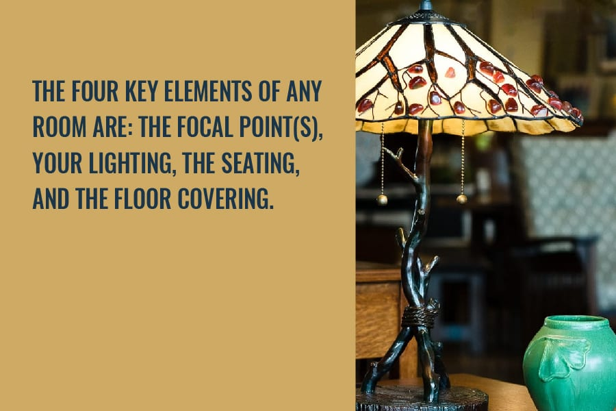 the four key elements of a a room