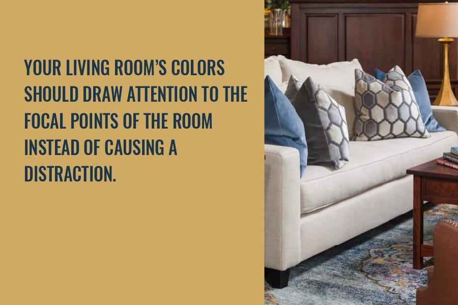 your living rooms colors