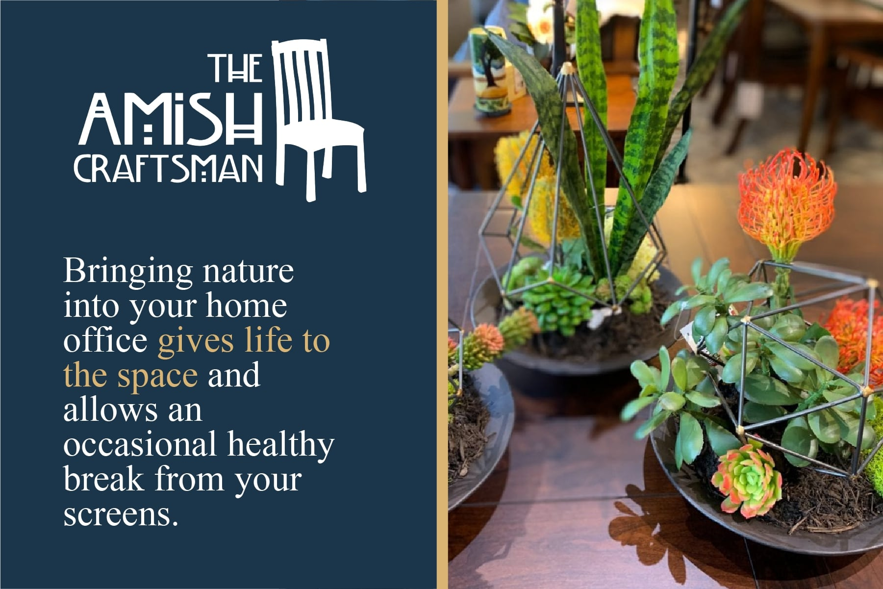 bring nature to your home office