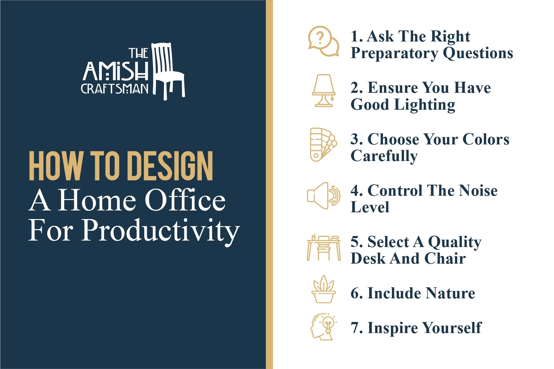 how to design a home office for productivity