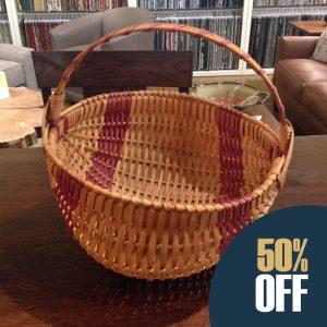 Handmade Amish Egg Basket