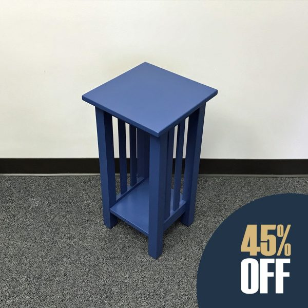Mission Plant Stand - Blue