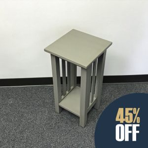 Mission Plant Stand - Gray